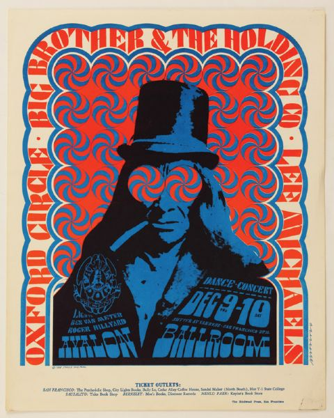 Big Brother and the Holding Company Original  Poster