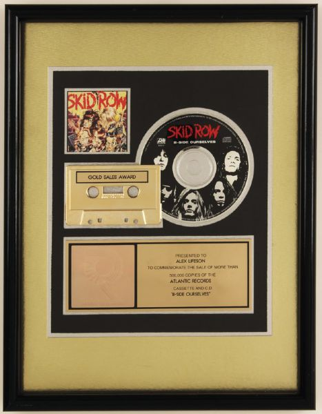 Skid Row B-Side Ourselves RIAA Gold Award