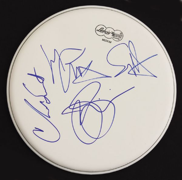 Chickenfoot Signed Drumhead