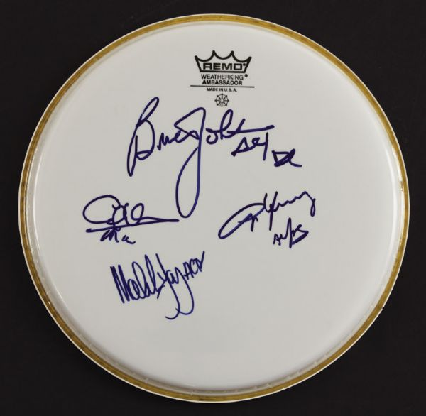 AC/DC Signed Drumhead