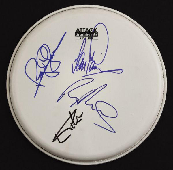 Deep Purple Signed Drumhead