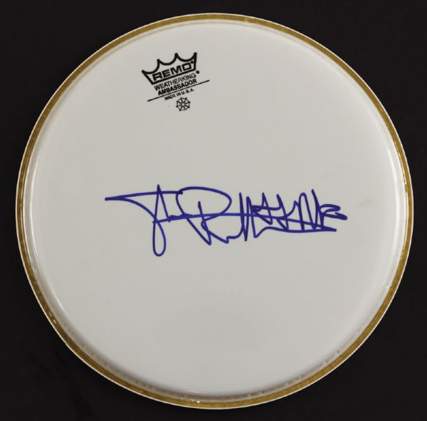 Sex Pistols Johnny Rotten Signed Drumhead