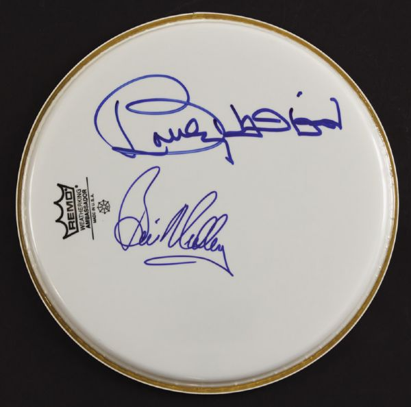 Righteous Brothers Signed Drumhead