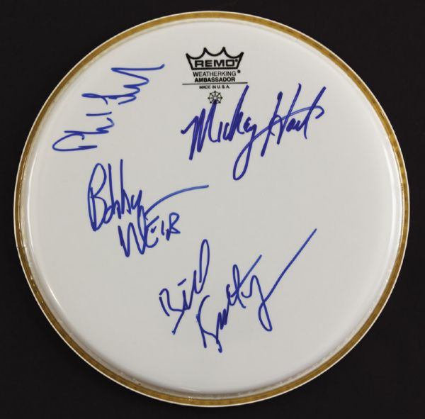 Grateful Dead Signed Drumhead