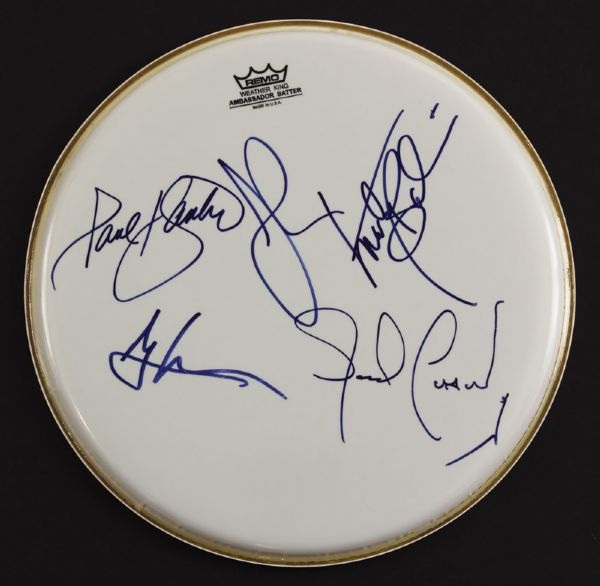Jefferson Airplane Signed Drumhead