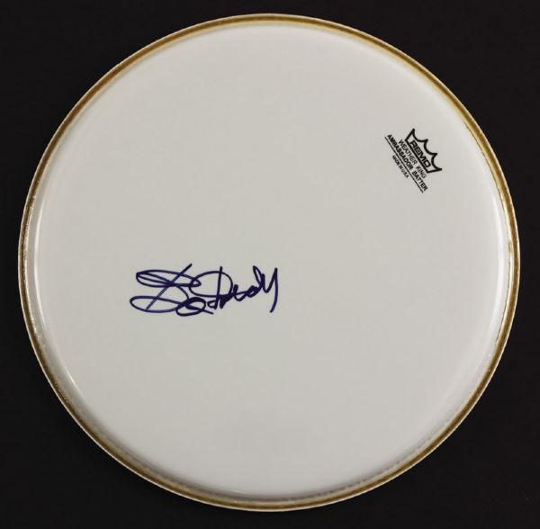 Bo Diddley Signed Drumhead