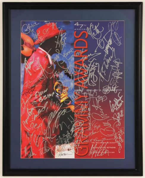 47th Annual Grammy Awards Signed Poster