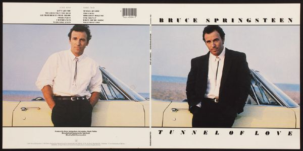 Bruce Springsteen Tunnel of Love Album Slick