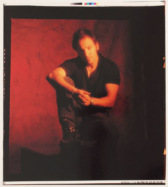 Bruce Springsteen Human Touch Original Outtake Photograph