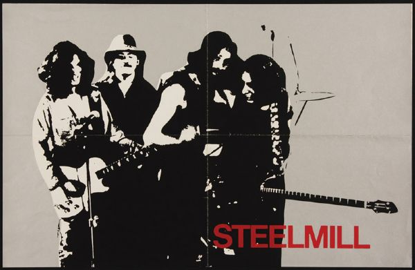 Bruce Springsteen Steel Mill Original poster