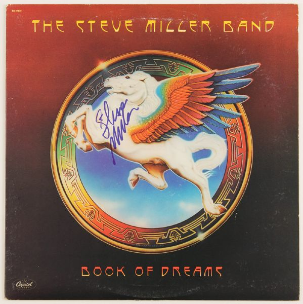 Steve Miller Signed Book of Dreams Album