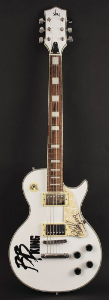 B.B. King Signed Electric Guitar