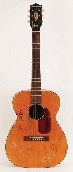 Stevie Ray Vaughan, Indigo Girls Played & Suzanne Vega Signed Guitar