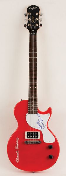 Chuck Berry Signed Electric Guitar