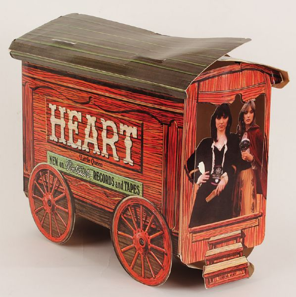 Heart Little  Queen Promotional Display