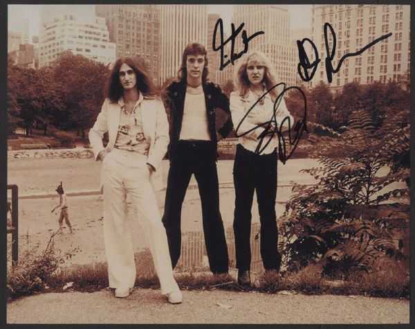 Rush Signed Photograph