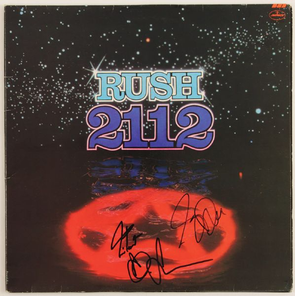 Rush Signed 2112 Album