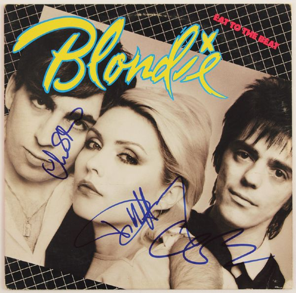 Blondie Signed Eat To The Beat Album