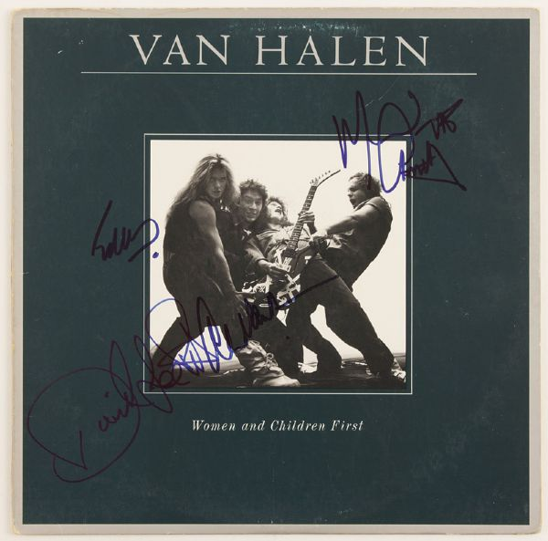 Van Halen Signed Women and Children First Album