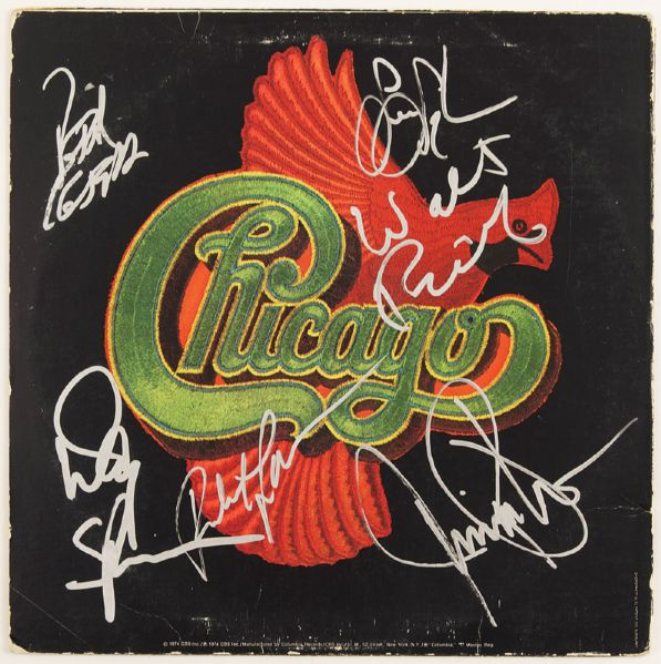 Chicago Signed Album