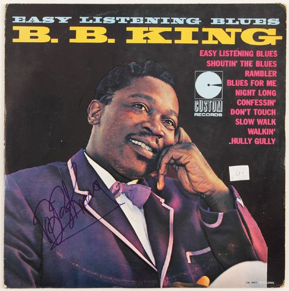 B.B. King Signed Easy Listening Blues Album