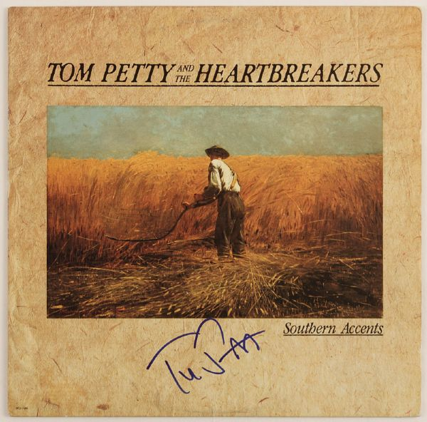 Tom Petty Signed Southern Accents Album