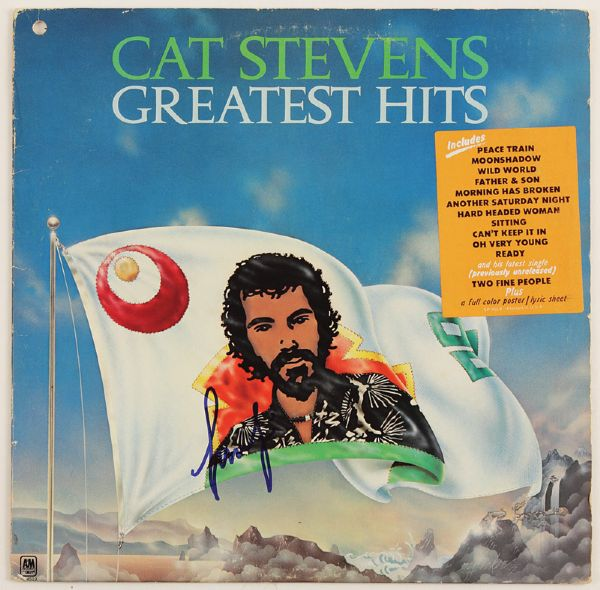 Cat Stevens Signed Greatest Hits Album