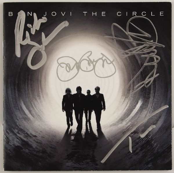 Bon Jovi Signed The Circle CD