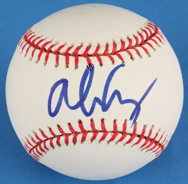 Alice Cooper Signed Baseball