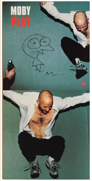 Moby Signed Play Poster