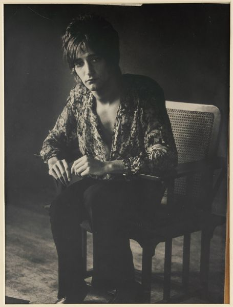 Rod Stewart 1969 Original Photograph by Herb Greene