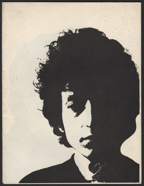 Bob Dylan 1964 U.K. Tour Program