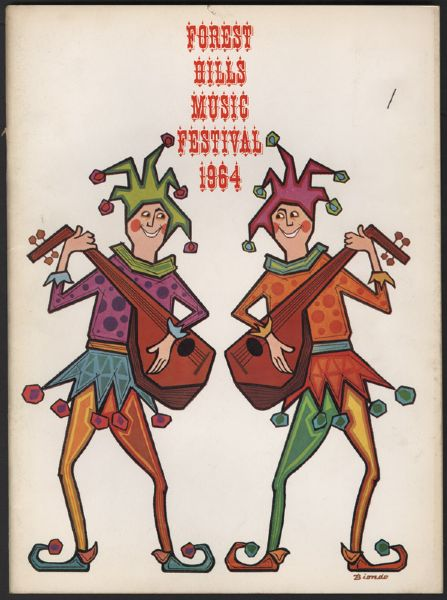 Forest Hills Music Festival 1964 Program