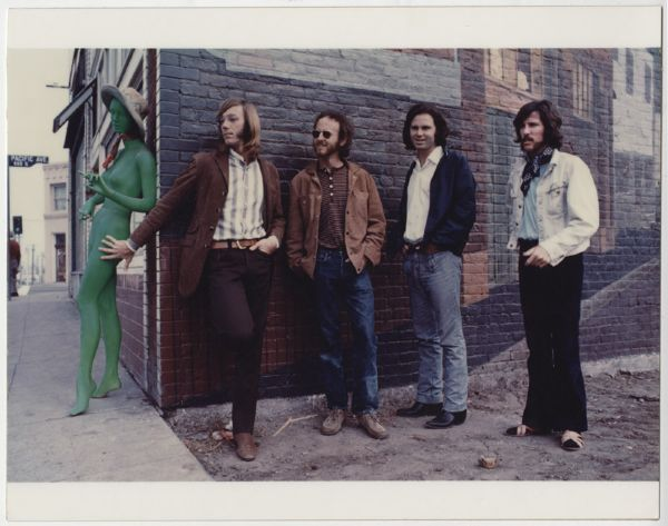 The Doors Morrison Hotel  Henry Diltz Original Outtake Photograph