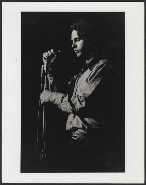Jim Morrison Original Concert Photograph