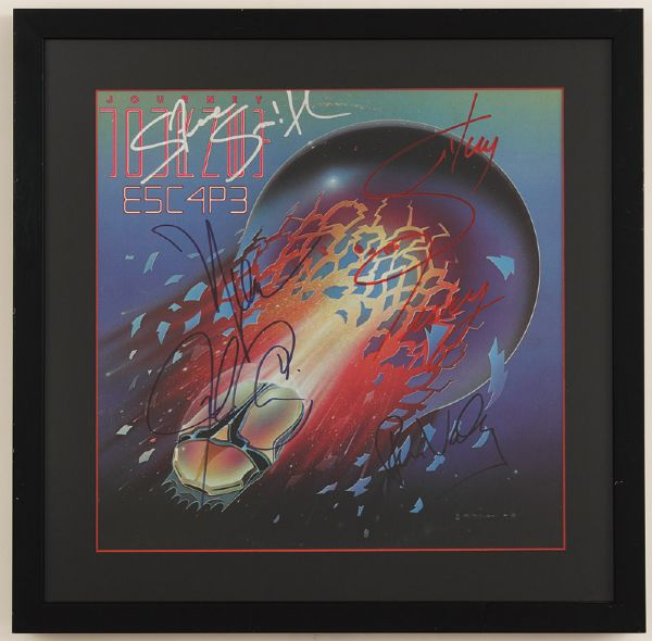 Journey Signed Escape Album