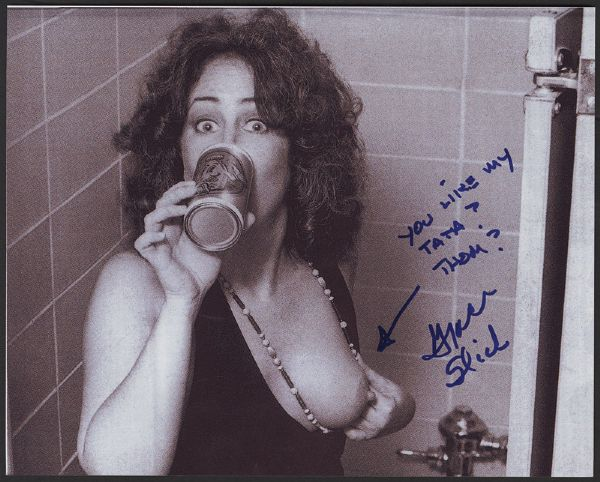 Grace Slick Signed & Inscribed Photograph