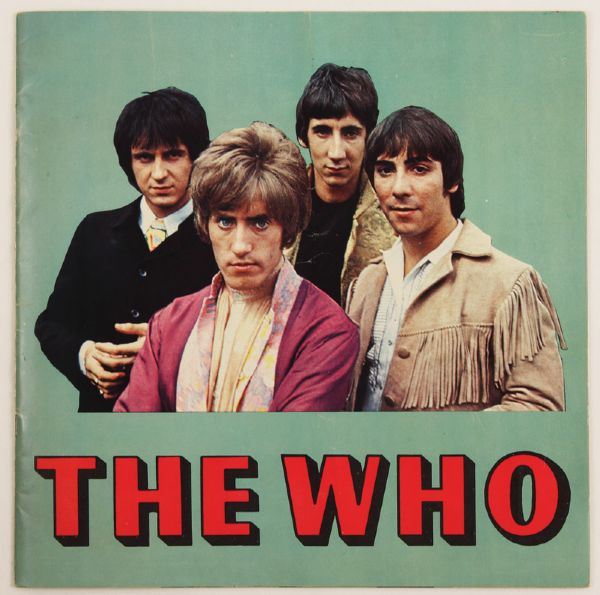 The Who Original Tour Program