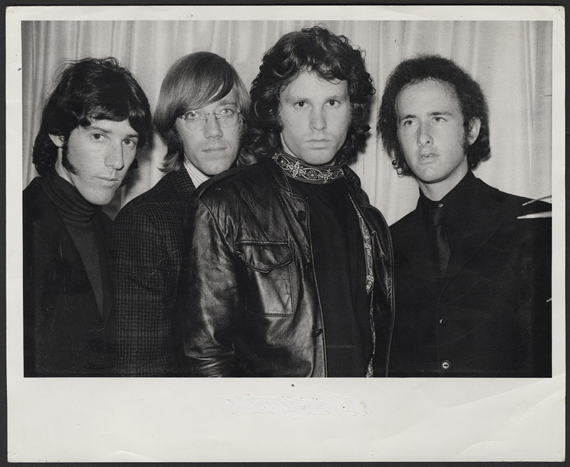 Hover to zoom  sc 1 st  Gotta Have Rock and Roll & Lot Detail - The Doors Gloria Stavers Stamped Original Photograph