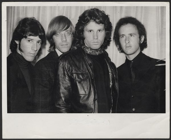 The Doors Gloria Stavers Stamped Original Photograph