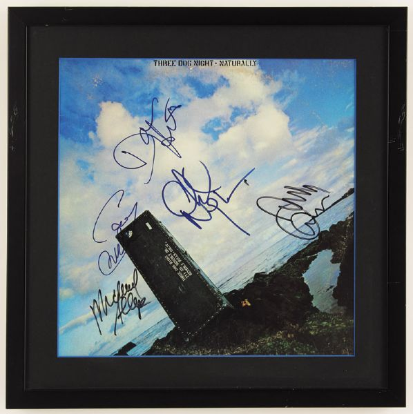 Three Dog Night Signed Naturally Poster