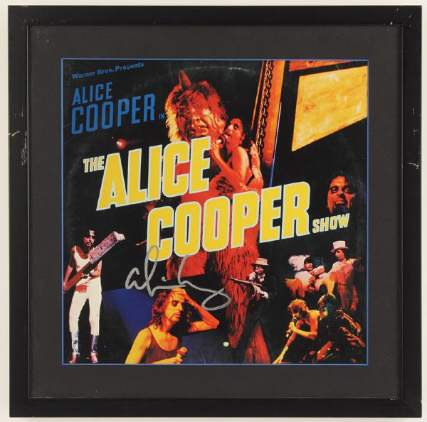 Alice Cooper Signed The Alice Cooper Show Album