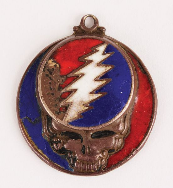 Grateful Dead Mickey Hart Worn Pendant