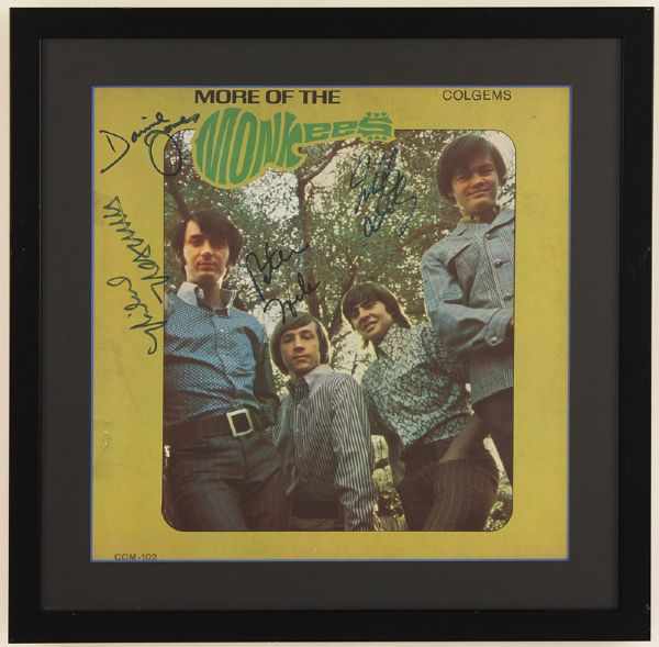 Monkees Signed More of the Monkees Album