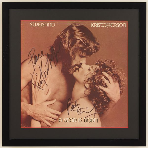 Barbra Streisand and Kris Kristofferson A Star Is Born Album