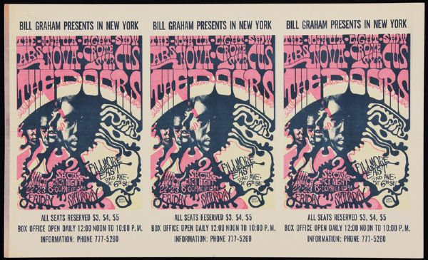 Fillmore East Original Printers Proofs