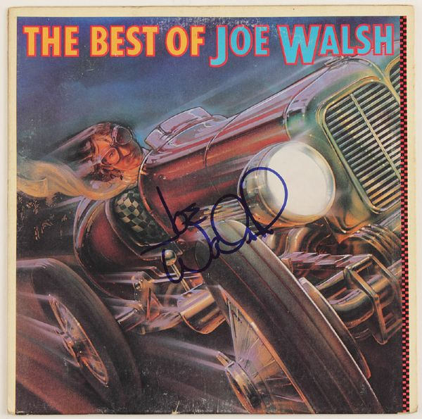 Joe Walsh Signed Best Of Album