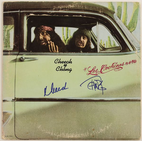 Cheech & Chong Signed Los Cochinos Album