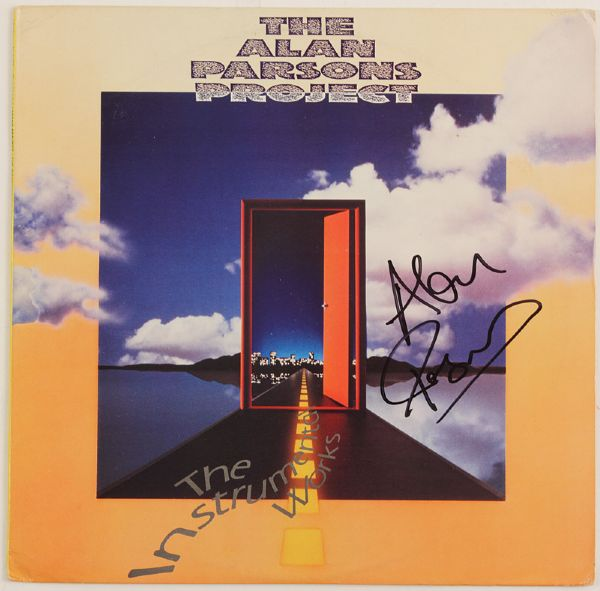 Alan Parsons Signed The Instrumental Works Album