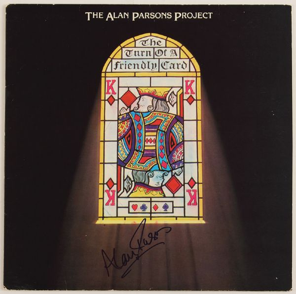 Alan Parsons Signed The Turn of a Friendly Card Album